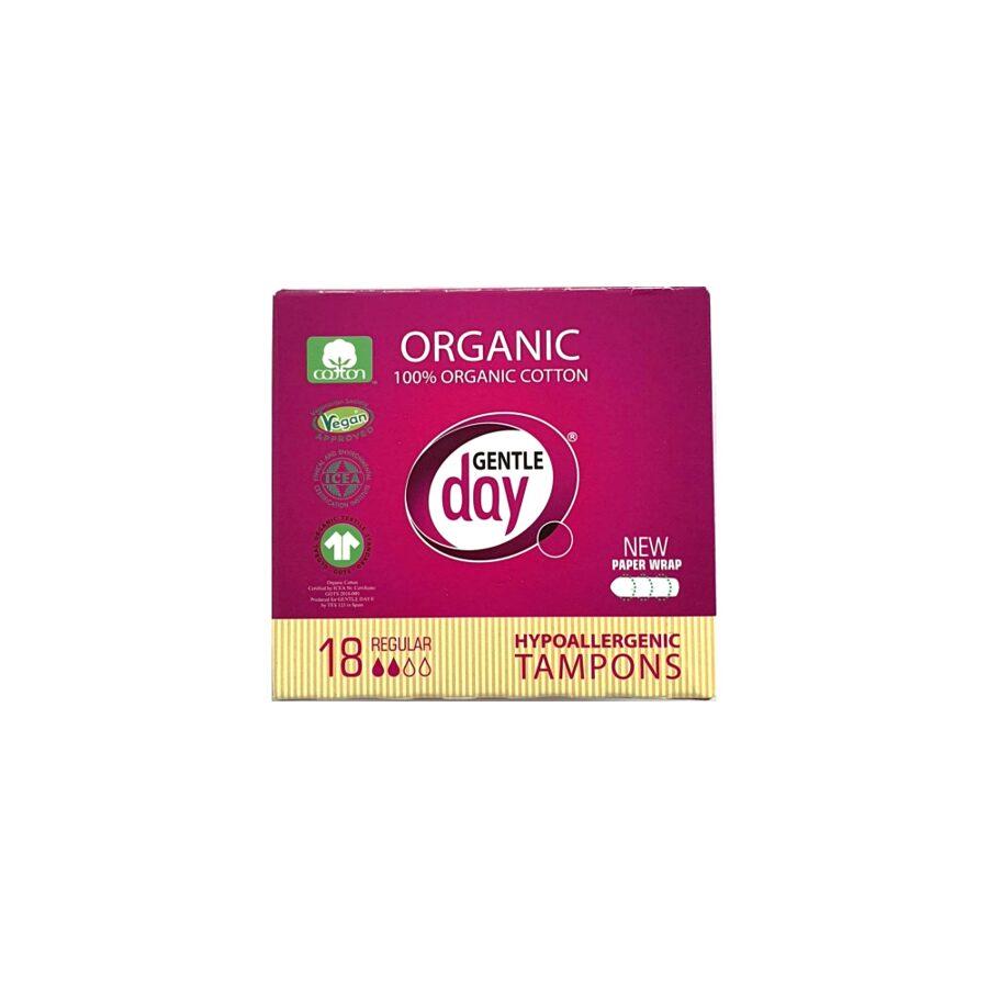 Organic Cotton Tampons REGULAR 18 PC
